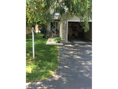 Roseville MI Condo/Townhouse For Sale: $139,900