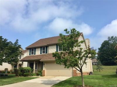 Novi Condo/Townhouse For Sale: 41672 Sleepy Hollow Drive