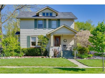 Birmingham Single Family Home For Sale: 863 Knox Street