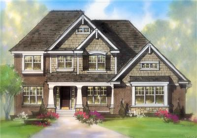 West Bloomfield, West Bloomfield Twp Single Family Home For Sale: 4510 Twin Beach Court