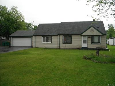 Brownstown Twp Single Family Home For Sale: 30155 Fort Road