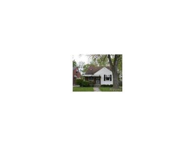 Detroit MI Single Family Home For Sale: $34,000
