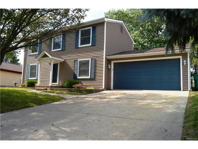 Novi Single Family Home For Sale: 24443 Surfside Road