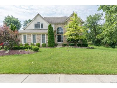 Plymouth Single Family Home For Sale: 46449 Burning Tree Lane