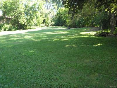 Ypsilanti Twp Residential Lots & Land For Sale: Wilson Street