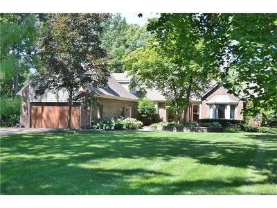 Grosse Ile Twp MI Single Family Home For Sale: $785,000