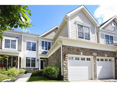 Novi Condo/Townhouse For Sale: 24906 Reeds Pointe Drive