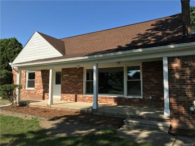 Troy Single Family Home For Sale: 5245 Wright Drive