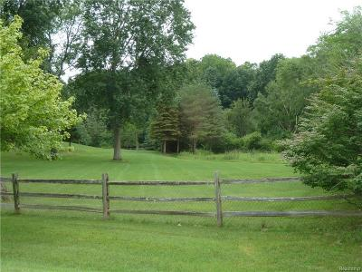 Northville Twp MI Residential Lots & Land For Sale: $400,000