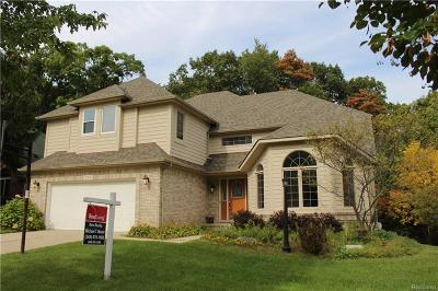 Rochester Hills Single Family Home For Sale: 519 Misty Brook Lane