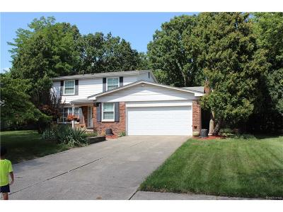 Southfield MI Single Family Home For Sale: $229,000