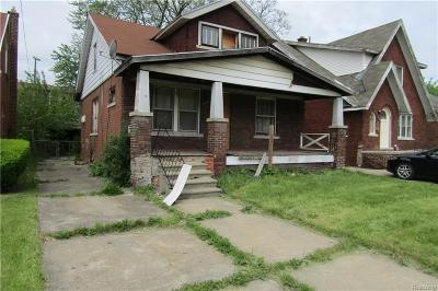 Macomb County, Oakland County, Wayne County Single Family Home For Sale: 14579 Prest Street