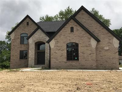 Rochester Hills Single Family Home For Sale: 1971 Rosati Court