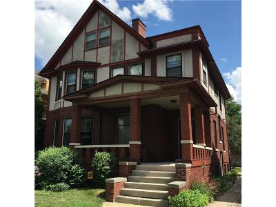 Detroit Single Family Home For Sale: 899 Virginia Park Street