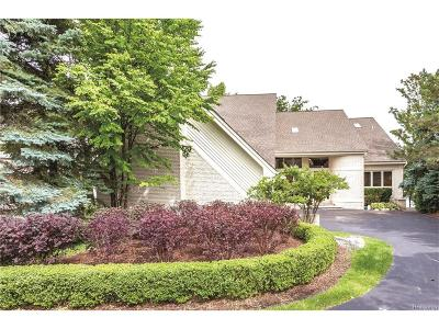West Bloomfield Twp Single Family Home For Sale: 2652 W Long Lake Road