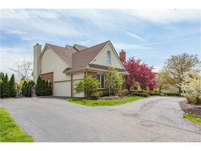West Bloomfield, West Bloomfield Twp Single Family Home For Sale: 4915 Peggy Street