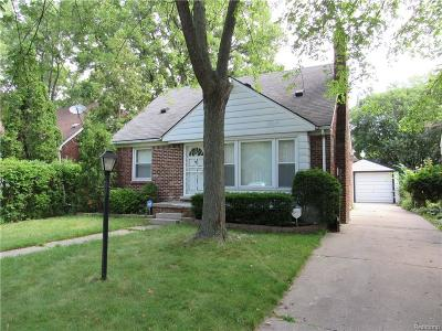 Detroit Single Family Home For Sale: 6000 Lodewyck Street