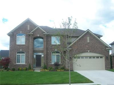 Canton Single Family Home For Sale: 50259 Woodford Drive