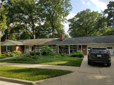Dearborn Single Family Home For Sale: 20765 Donaldson Street