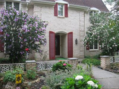 West Bloomfield, West Bloomfield Twp Single Family Home For Sale: 3982 Winterset Court