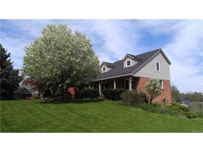 Lapeer County Single Family Home For Sale: 5955 Thomas Road N