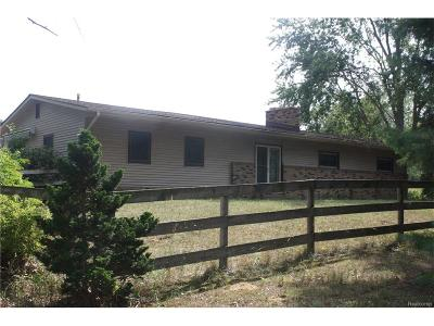 Single Family Home For Sale: 42891 Bemis Road