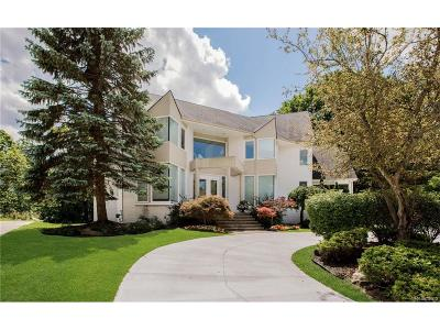 West Bloomfield, West Bloomfield Twp Single Family Home For Sale: 5773 Mill Pond Court