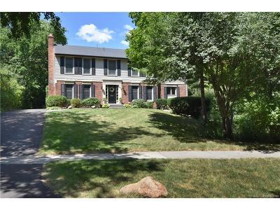 Birmingham Single Family Home For Sale: 1313 Lakeside Drive