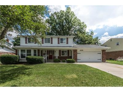 Troy Single Family Home For Sale: 4226 Gatesford Circle Drive