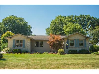 Troy Single Family Home For Sale: 670 Troywood Drive