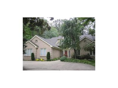 West Bloomfield, West Bloomfield Twp Single Family Home For Sale: 7111 Elder Court S