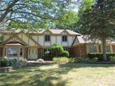 Troy Single Family Home For Sale: 2666 Creek Bend Drive