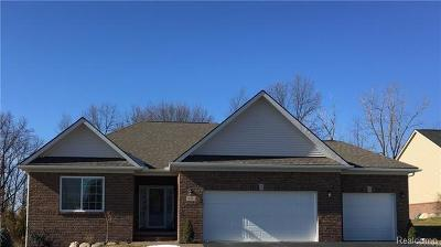 Holly Twp Single Family Home For Sale: 14229 Hess Road
