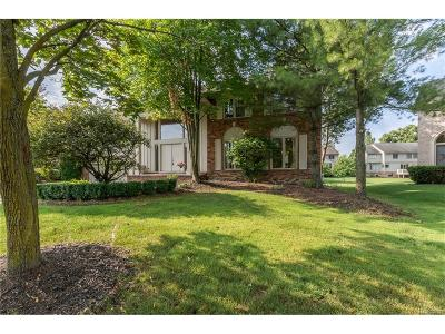 West Bloomfield, West Bloomfield Twp Single Family Home For Sale: 5095 Village Place Court