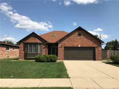 Sterling Heights Single Family Home For Sale: 35008 Eden Park Drive