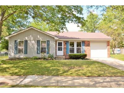 Canton, Canton Twp Single Family Home For Sale: 41500 Ayrshire Drive