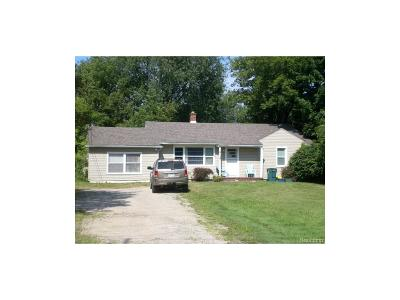 Troy Single Family Home For Sale: 6103 Rochester Road