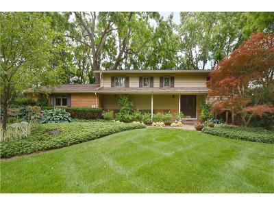 West Bloomfield, West Bloomfield Twp Single Family Home For Sale: 2485 Worcester Road