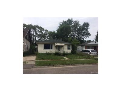 Detroit Single Family Home For Sale