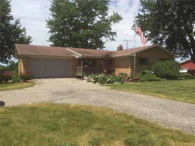 Lapeer County Single Family Home For Sale: 2545 Farnsworth Road