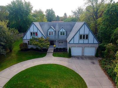 West Bloomfield, West Bloomfield Twp Single Family Home For Sale: 2147 Daintree Avenue