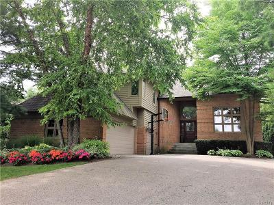 West Bloomfield, West Bloomfield Twp Single Family Home For Sale: 5720 Eastman Boulevard