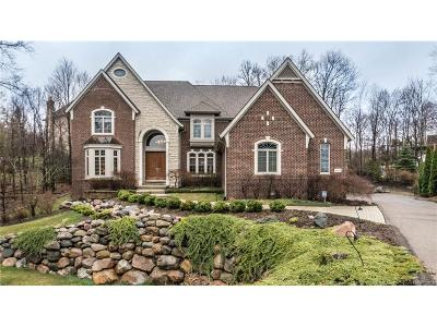 Farmington Hills Single Family Home For Sale: 34696 Huntington Court