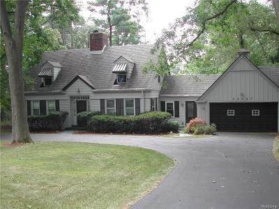 Farmington, Farmington Hills Single Family Home For Sale: 28925 Millbrook Road