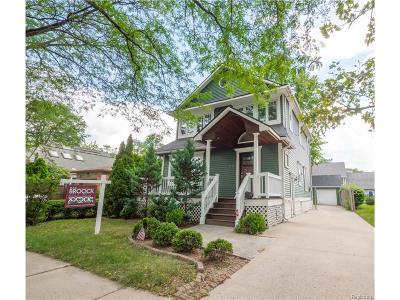 Birmingham Single Family Home For Sale: 1028 Chapin Avenue