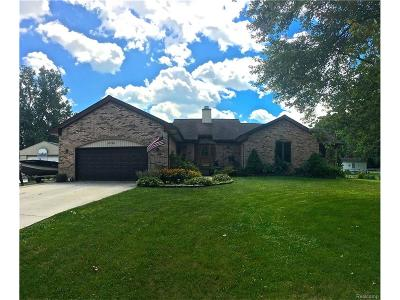 Chesterfield Twp MI Single Family Home For Sale: $285,000