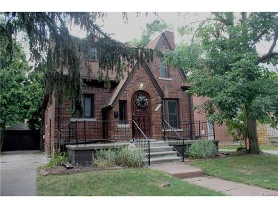 Detroit Single Family Home For Sale: 14567 Faust