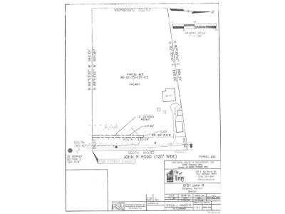 Troy Residential Lots & Land For Sale: 6191 John R Road