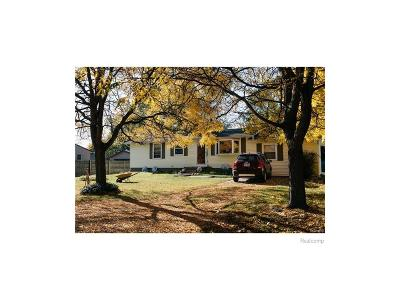 Rochester Hills Single Family Home For Sale: 2436 Harrison Avenue