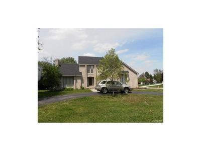 West Bloomfield Single Family Home For Sale: 5220 Cedar Grove Court